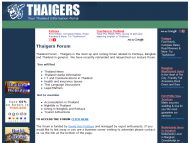 Thaigers Thailand InformationThumbnail